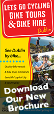 Bike rentals Malahide Dublin and Bike tours in Malahide Dublin Download our Summer 2015 brochure