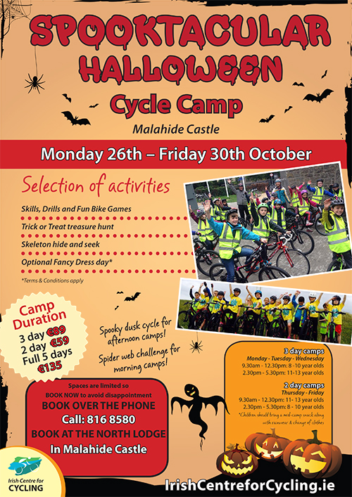 Halloween Cycling Camp