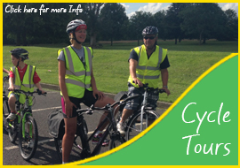 Bike tours in Ireland. Visit historic castles and see Dublin by bike