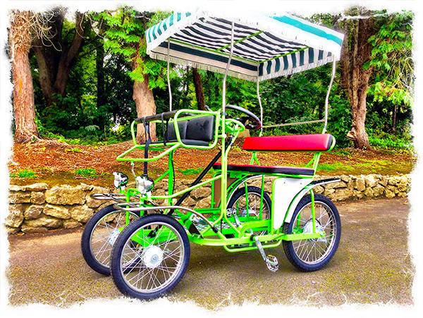 Surrey Pedal Car & tour of Malahide Castle